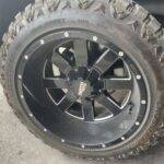 steering wheel shaking, tire