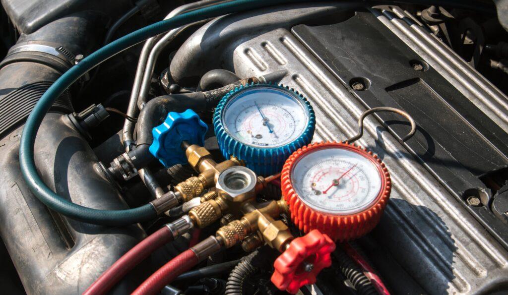 Car's A/C, A/C is not cold, A/C Repair,low refrigerant, compressor, condenser