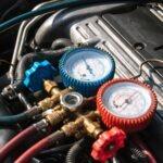 Car's A/C, A/C is not cold, A/C Repair,  low refrigerant, compressor, condenser
